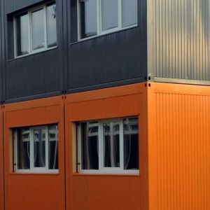 Container Schule Banner S